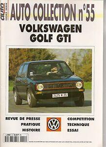 AUTO COLLECTION 55 VOLKSWAGEN GOLF GTI VW GOLF GTI