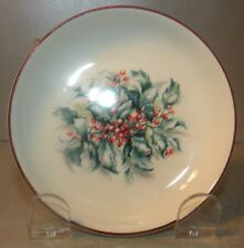 NEW Small Sugar Dishes Holly, Filets Noël Pattern GIEN