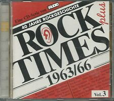 Audio Rock Times Plus Vol. 03 1963-1966 CD Various Audiophile
