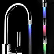 HOT 7 Colors Change LED Light Shower Head Water Bath Home Bathroom Glow Romantic