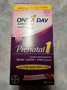 One a Day Women's Prenatal1 with DHA and Folic Acid - 60 Softgels