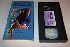 Gazelle Freestyle Lower Body Solution VHS -Tony Little -Guaranteed-FREE SHIPPING