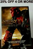 Hellboy II: The Golden Army (DVD, 2008, Widescreen, Canadian, Eng/Fre)
