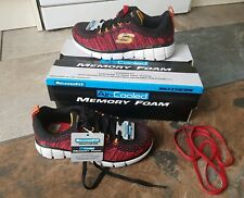 Sketchers Trainers infant size 11.5 eur 29 memory foam new boxed UK Seller