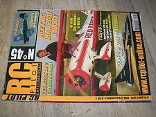 µµ Revue RC Pilot n°45 Plan encarté Typhoon EPP / Mirage 2000-10 Lama V4 F86 Sab