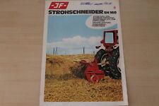163253) JF paglia Schneider SH 160 PROSPEKT 06/1973