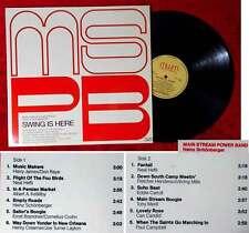 LP Main Stream Power Band Heinz bello Berger: Swing is here (MWM 001) D 1976