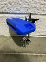 LP Plastic Cowbell Percussion Block and Mounting Clamp / Drum Hardware #CL003