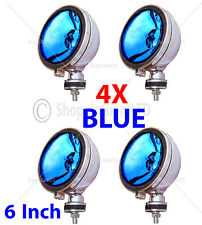 "4x 6"" Blue Angel Eye alogena h3 Faretti Spot Luce Antinebbia Per Auto Furgone Scooter"