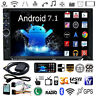 7in 2 Din Quad-core Android Bluetooth Car Auto Stereo GPS Navi 1080P MP5 Player