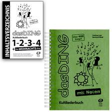 das Ding 1 Kultliederbuch mit Noten Edition Dux