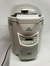 The Bread Machine Welbilt Model Abm-100-3 Bread Maker R2D2 with Manual & Recipes