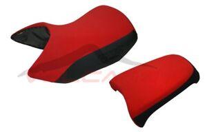 BMW R 1200 GS Adventure 2005 - 2012 Volcano design Seat cover Anti Slip red &bla