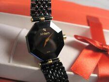 Woman's H. Stern Safira Sapphire Collection 18K Gold Stainless Diamond Watch Box