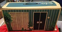 "VINTAGE MATTEL 1962 BARBIE DOLL DREAM HOUSE W/ MANY ACCESSORIES 26"" X 14"" X 8"""