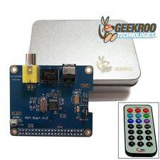 Geekroo HiFi DiGi+ Sound Card I2S SPDIF Optical For Raspberry Pi 2 2B A+ B+ Zero