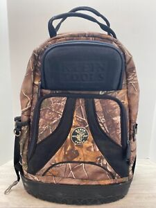 Klein Tools Camo Tool Bag electricians pack Backpack used Condition