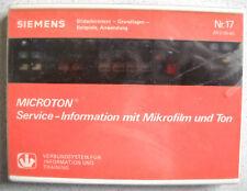 Siemens Ecevit-système microton Nº 17 BTX bases Exemples d'application