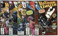 Batman: Unseen #1 - 5  Complete Set  avg. NM 9.4  DC  2009  No Reserve