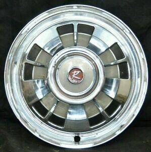 """1966 66 Rambler Nash Classic Hubcap Rim Wheel Cover Hub Cap 14"""" OEM USED"""
