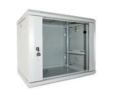 19 Zoll Wandverteiler Netzwerkschrank Serverschrank 9 HE HxBxT 500x600x450mm gr