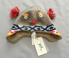 NWT CATIMINI BABY BOYS KNIT OWL HAT 12 - 18 MONTHS SZ 46cm $49.00