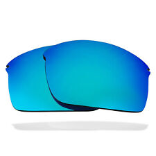 Polarized Replacement Lenses for Oakley Wiretap Sunglasses Anti-Scratch Blue