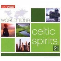 WORLD TOUR-CELTIC SPIRITS 2 CD  32 TRACKS WORLDMUSIC THE DUBLINERS UVM NEW