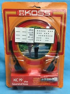 Koss KC/24 The Sound of Koss Wired Headset SEALED