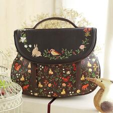 Mori Girl Embroider Vintage Sweet Lolita Handbags Messenger Bag Shoulder Bags