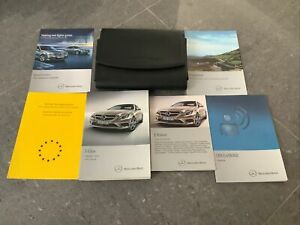 MERCEDES E CLASS COUPE CABRIOLET C207 A207 OWNERS MANUAL 2013-17