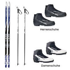Langlaufski-Set Fischer SUMMIT CROWN + Bindung + Schuhe + Stöcke 194 cm 70-84 kg