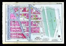 1921 Bromley New York City Map Highbridge Park Speedway Nicholas Amsterdam St.