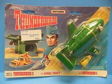 Thunderbirds Matchbox 1994 Thunderbird 2 & 4 Die Cast Virgil Tracy Pilot