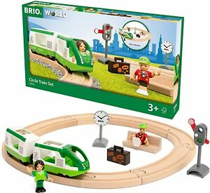 Brio World Circle Train Set 33847 16 Piece Wooden Train Set Ages 3+ FREEDELIVERY