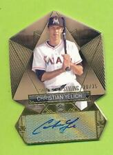 2014 Topps Supreme Styling Auto Die Cut - Christian Yelich (SS-CY)   20/35