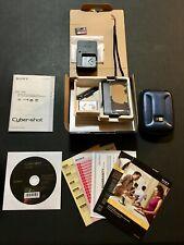 SONY CYBER-SHOT DSC-TX5 10.2MP Black Digital Camera COMPLETE! Case, Card, Accy