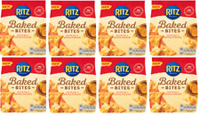 Ritz Baked Bites Crackers Olive Oil & Grana Padano 8x 100g Best Before 28.10.20
