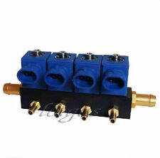 New 4 Cylinder Gas Jet Injection Rail Gas High Power CNG for Jetta Car