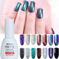 BORN PRETTY Nail Art UV Gel Polish Chameleon Holographics  Sequins Soak Off