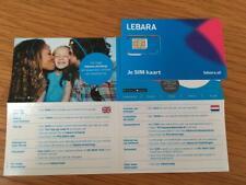 Lebara +316 HandyNummer NL Prepaid sim Karte ANONYM AKTIV ! keine ID benötigt !