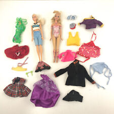 Barbie LOT - some retro vintage clothes and others + 2 Barbies toy3