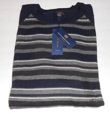 Club Room Estate Merino Blend Long Sleeve Lightweight Sweater Navy Blur XXLNWT
