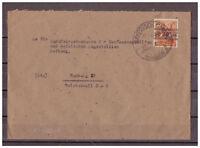 Alliierte Besetzung, MiNr. 44 I SSt Bayrisch Gmain nach Hamburg 27.07.48