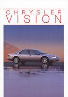 Prospekt Chrysler Vision D 10/94 car brochure Autoprospekt Auto Pkw US car 1994