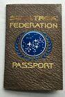 Star Trek Federation Passport w/postcard