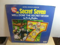 Well Done The Secret Seven by Enid Blyton 1983 LP Super Tempo STMP 9029
