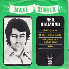 7inch NEIL DIAMOND solitary man MAXI SINGLE HOLLAND VG++ (S1390)