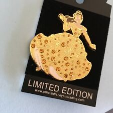 Disney Belle Pave Pin Limited Edition Of 500