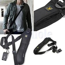 Quick Rapid Shoulder Sling Belt Neck Strap For  SLR Camera DSLR Decompression